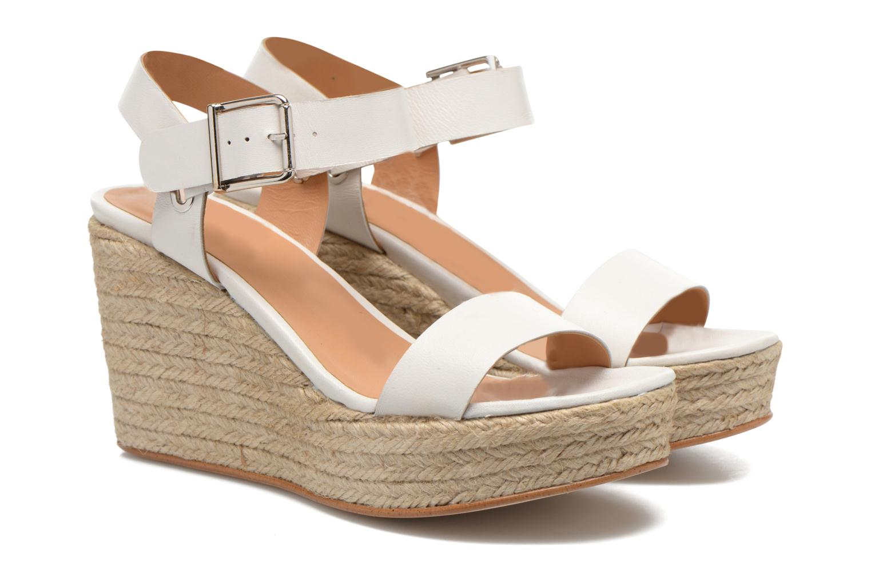 Sandalen Made by SARENZA Menthe Hello #18 weiß ansicht von hinten