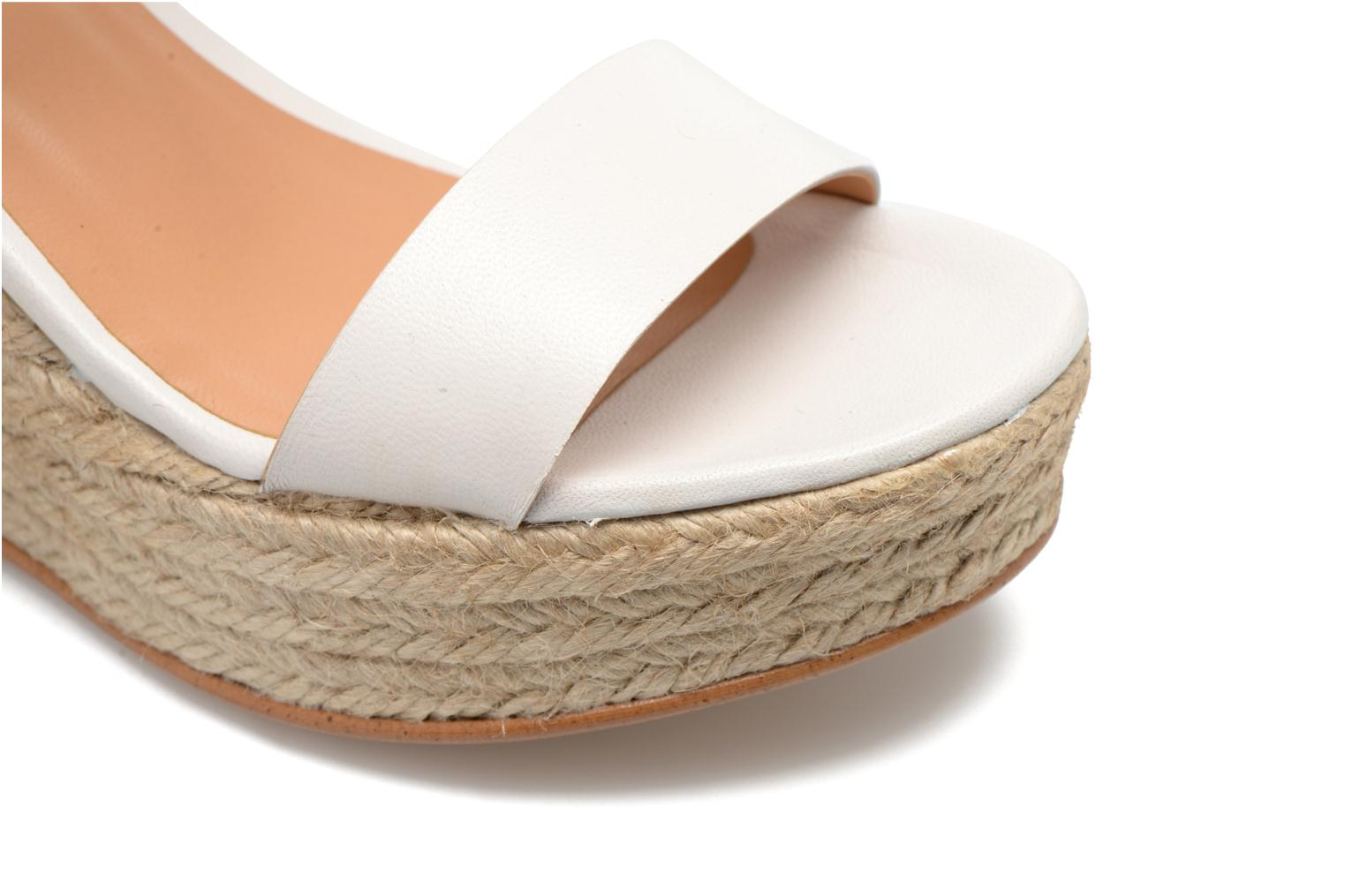 Sandals Made by SARENZA Menthe Hello #18 White view from the left