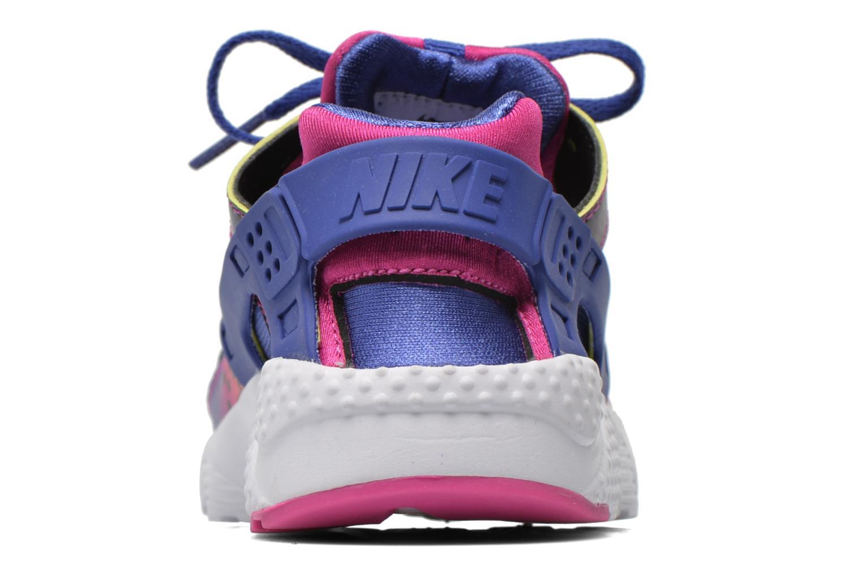 Baskets Nike Nike Huarache Run Print (Ps) Violet vue droite