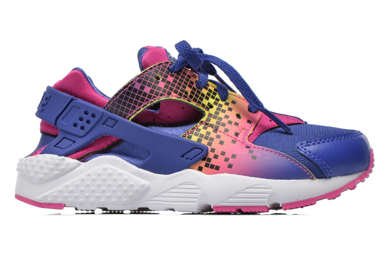 Sneaker Nike Nike Huarache Run Print (Ps) lila ansicht von hinten
