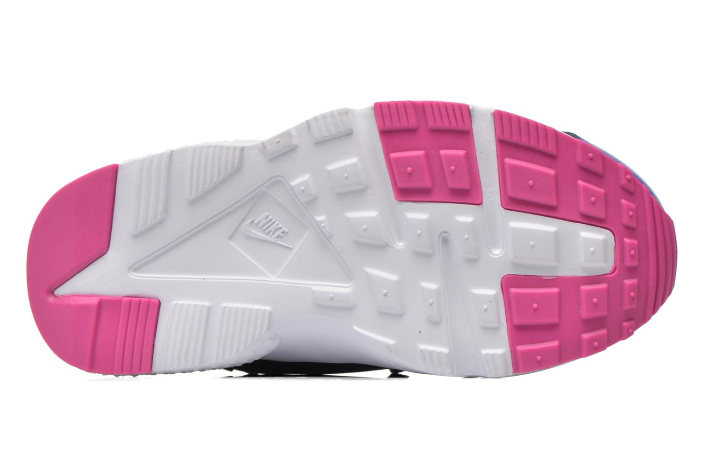 Baskets Nike Nike Huarache Run Print (Ps) Violet vue haut