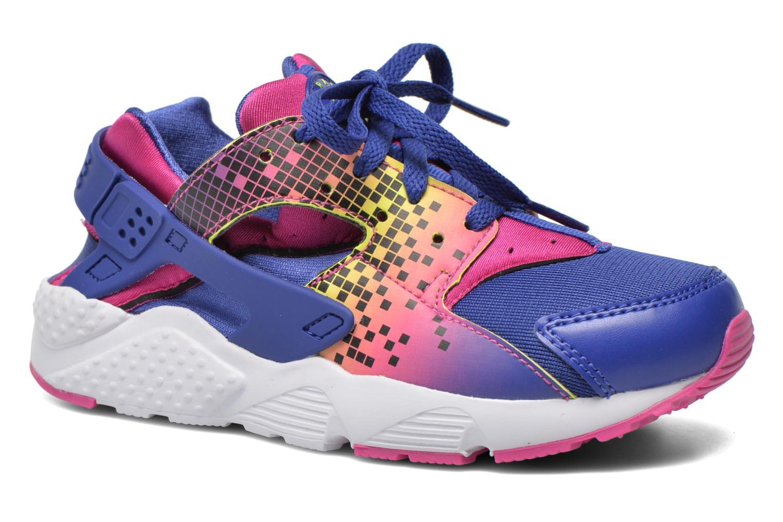 Baskets Nike Nike Huarache Run Print (Ps) Violet vue détail/paire