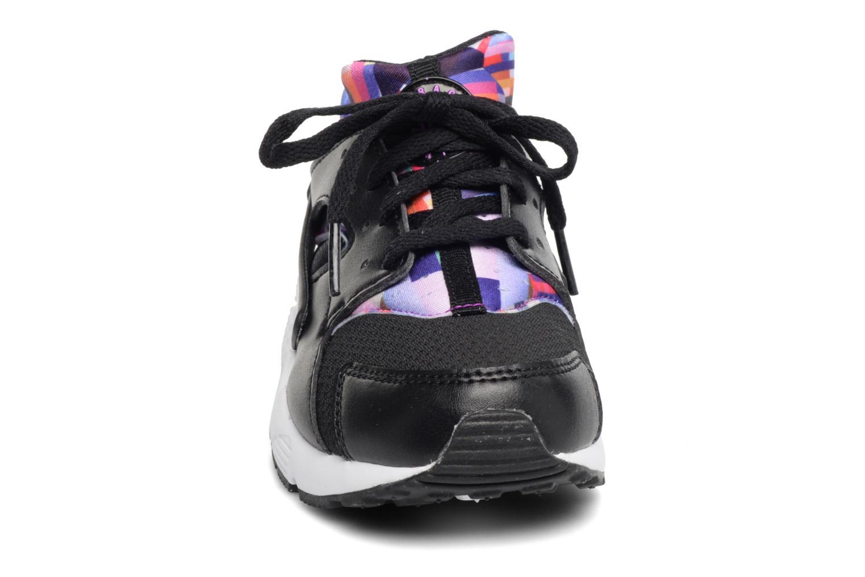 Trainers Nike Nike Huarache Run Print (Ps) Black model view