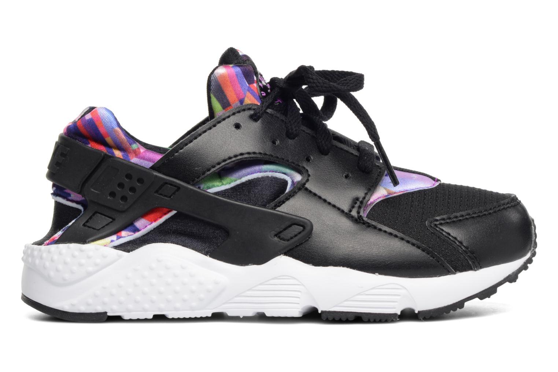 Trainers Nike Nike Huarache Run Print (Ps) Black back view