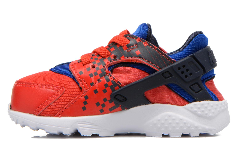 Sneaker Nike Nike Huarache Run Print (Td) rot ansicht von vorne