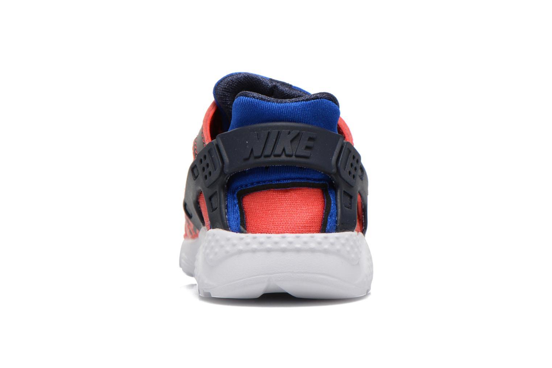 Baskets Nike Nike Huarache Run Print (Td) Rouge vue droite
