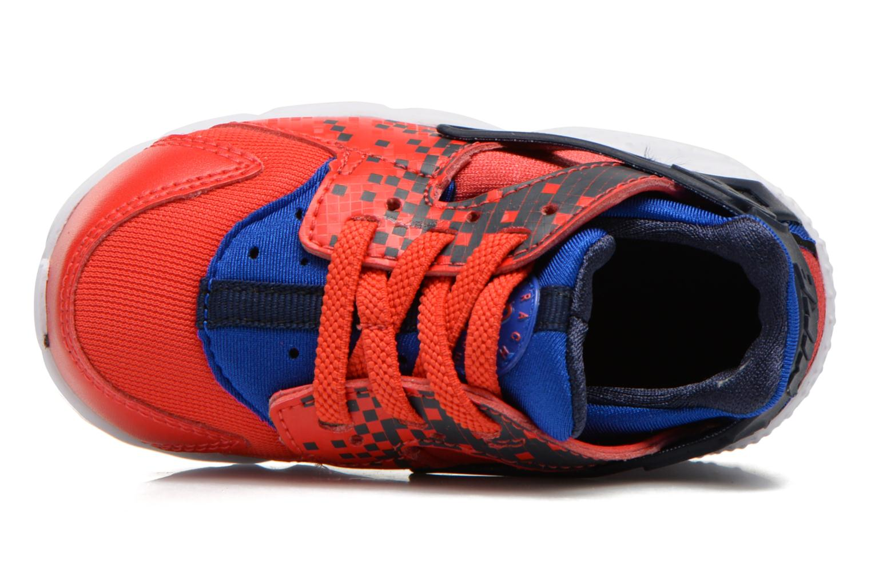 Deportivas Nike Nike Huarache Run Print (Td) Rojo vista lateral izquierda