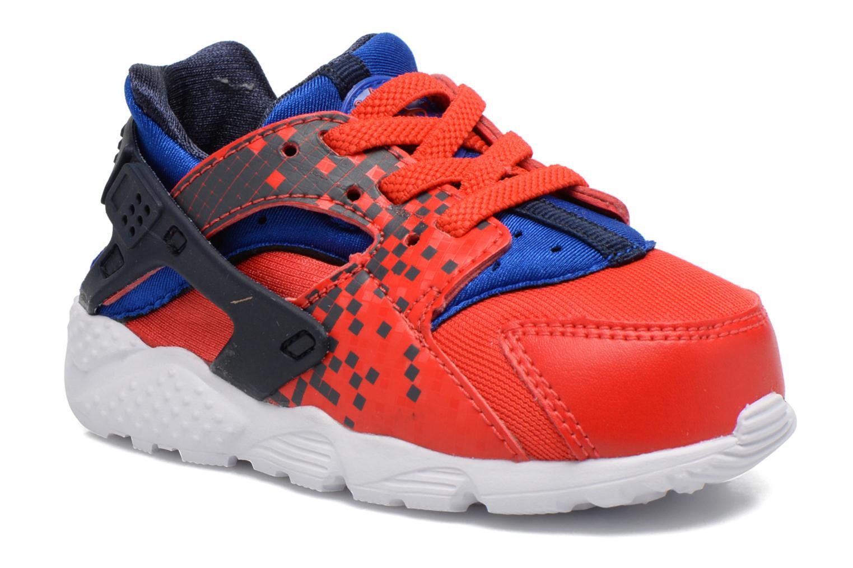 Nike Huarache Run Print (Td) Lt Crimson/Obsidian-Rcr Bl-Wht