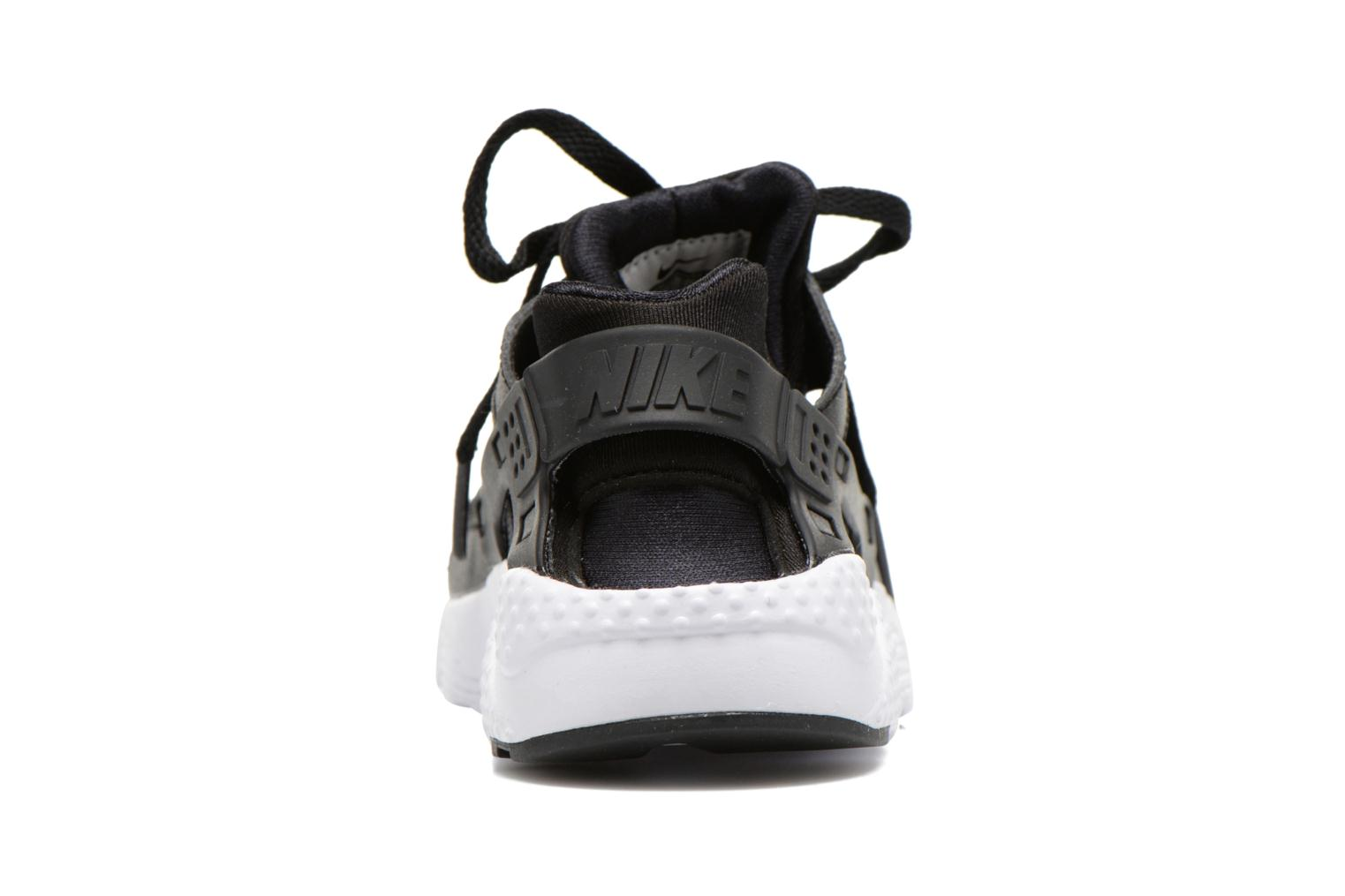 Trainers Nike Nike Huarache Run (Ps) Black view from the right