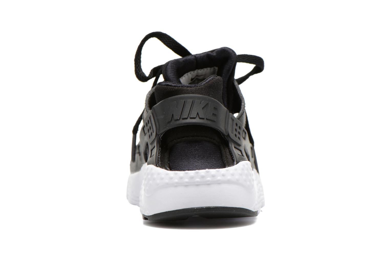 Deportivas Nike Nike Huarache Run (Ps) Negro vista lateral derecha