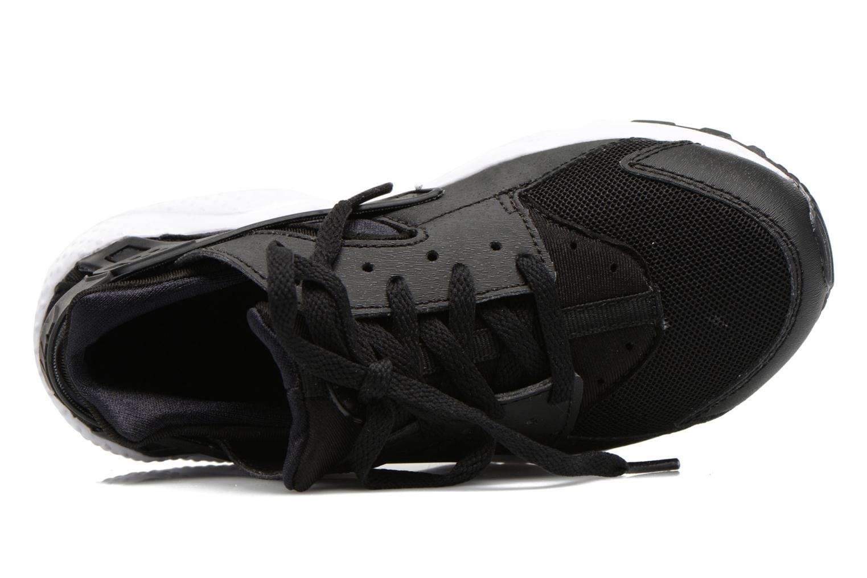 Deportivas Nike Nike Huarache Run (Ps) Negro vista lateral izquierda