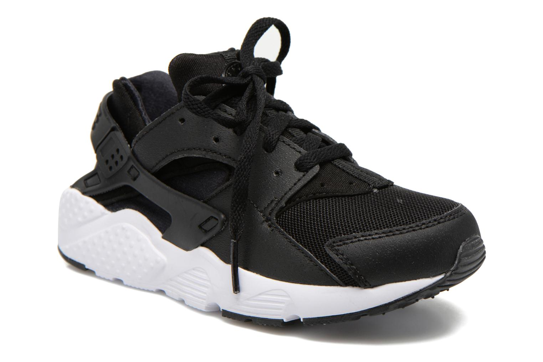 Deportivas Nike Nike Huarache Run (Ps) Negro vista de detalle / par