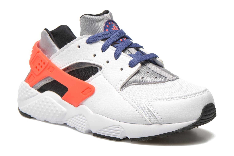 Baskets Nike Nike Huarache Run (Ps) Blanc vue détail/paire