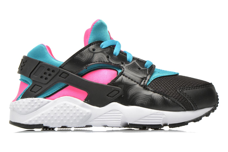 Baskets Nike Nike Huarache Run (Ps) Noir vue derrière