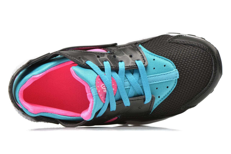 Sneakers Nike Nike Huarache Run (Ps) Zwart links