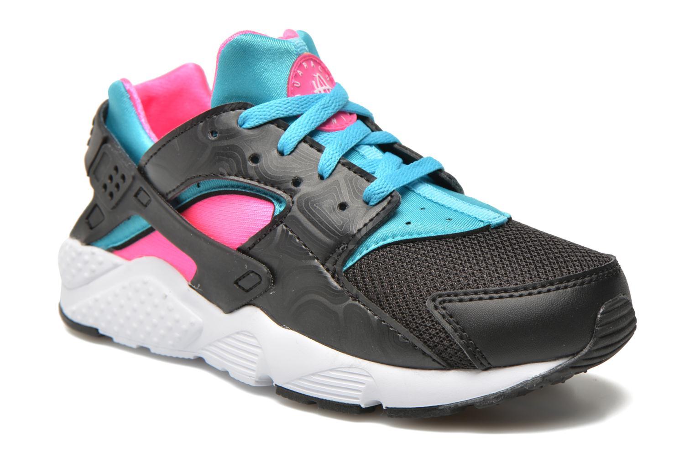 Sneakers Nike Nike Huarache Run (Ps) Zwart detail