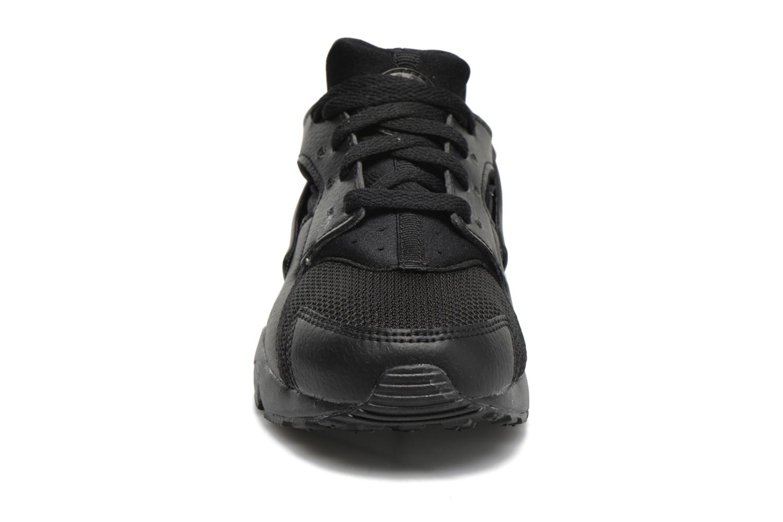 Deportivas Nike Nike Huarache Run (Ps) Negro vista del modelo