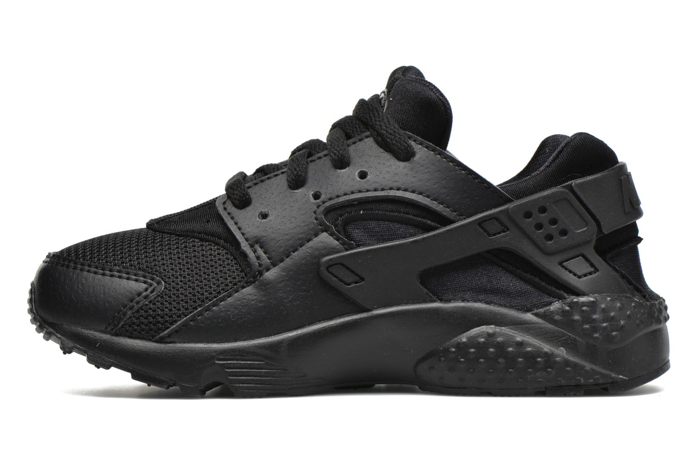 Deportivas Nike Nike Huarache Run (Ps) Negro vista de frente