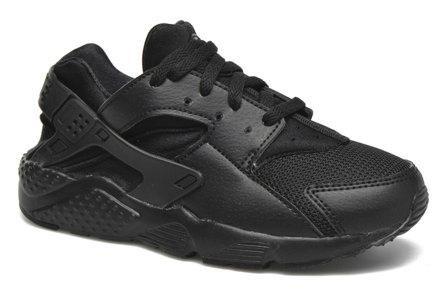 Trainers Nike Nike Huarache Run (Ps) Black detailed view/ Pair view