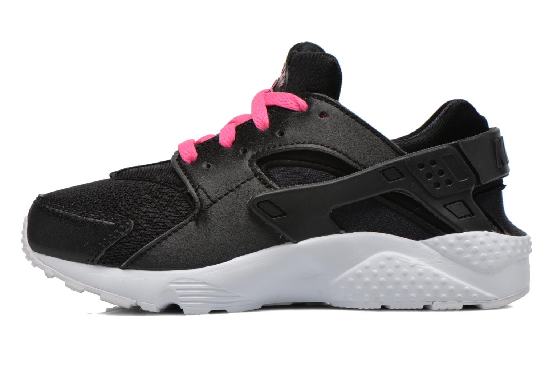 Baskets Nike Nike Huarache Run (Ps) Noir vue face