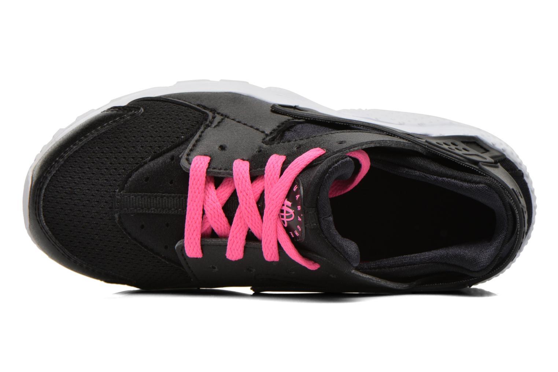 Baskets Nike Nike Huarache Run (Ps) Noir vue gauche