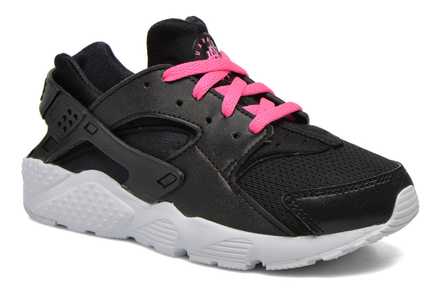 Nike Huarache Run (Ps) Black White-Pink Blast
