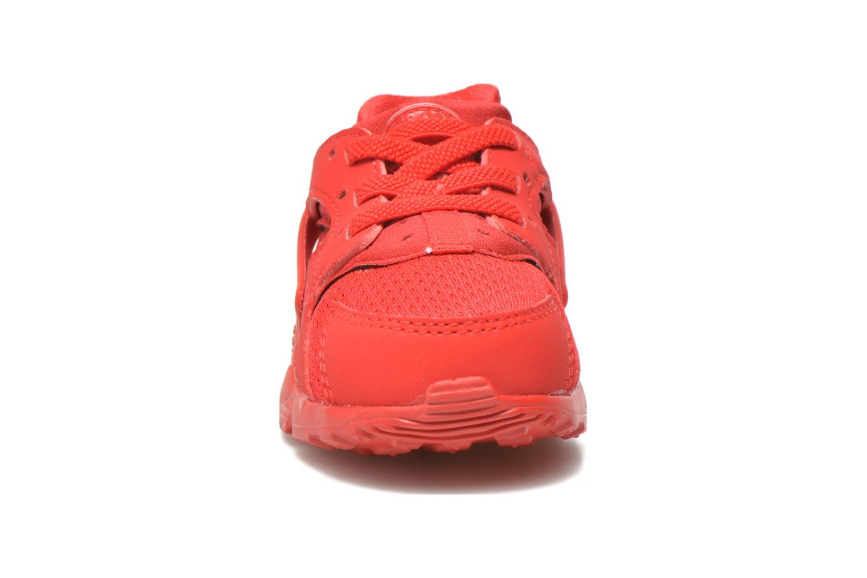 Sneaker Nike Nike Huarache Run (Td) rot schuhe getragen
