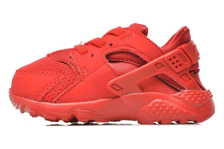 Sneaker Nike Nike Huarache Run (Td) rot ansicht von vorne