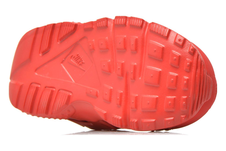 Sneaker Nike Nike Huarache Run (Td) rot ansicht von oben