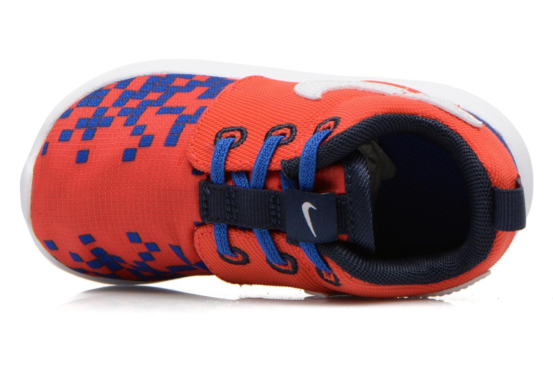 Deportivas Nike Roshe One Print (Tdv) Rojo vista lateral izquierda
