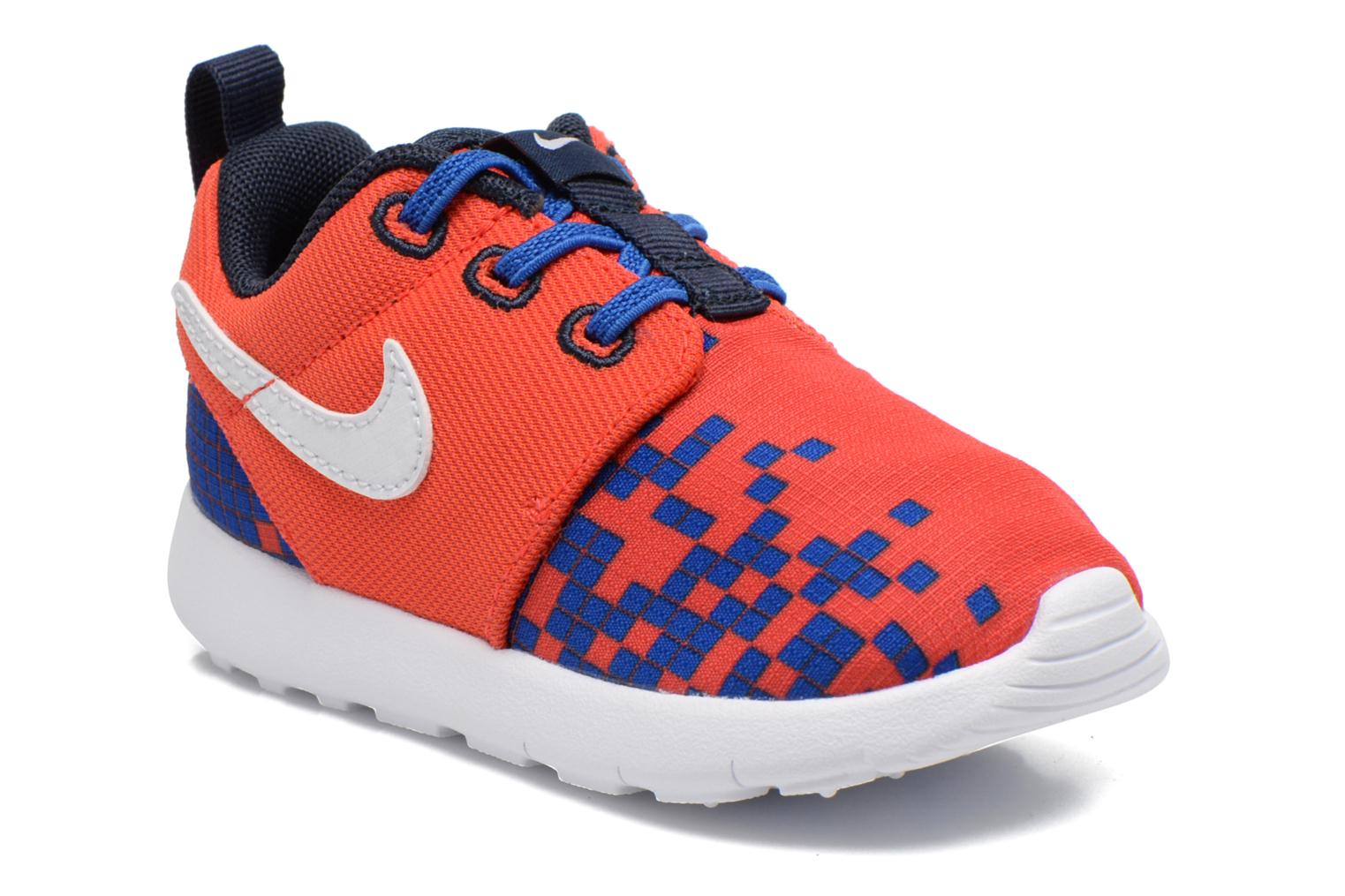 Baskets Nike Roshe One Print (Tdv) Rouge vue détail/paire