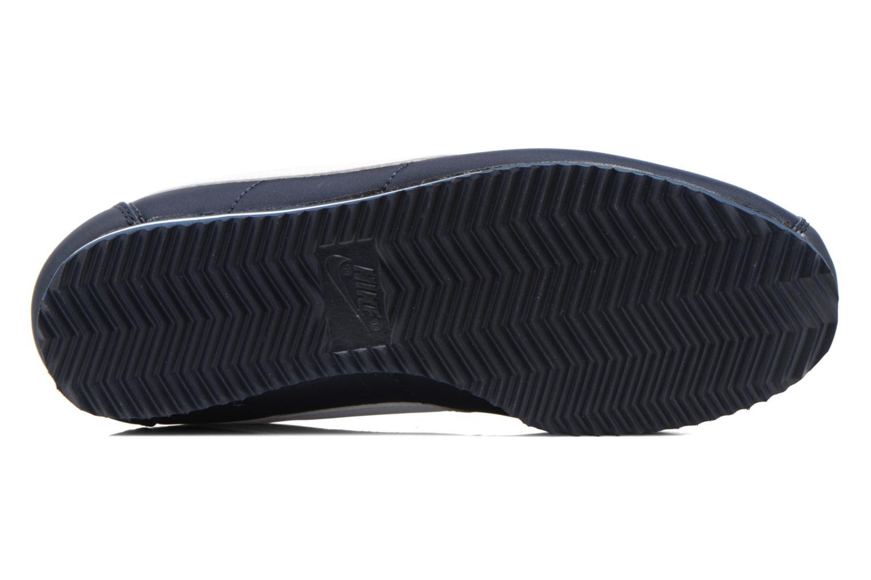 Sneaker Nike Cortez Nylon (Gs) blau ansicht von oben