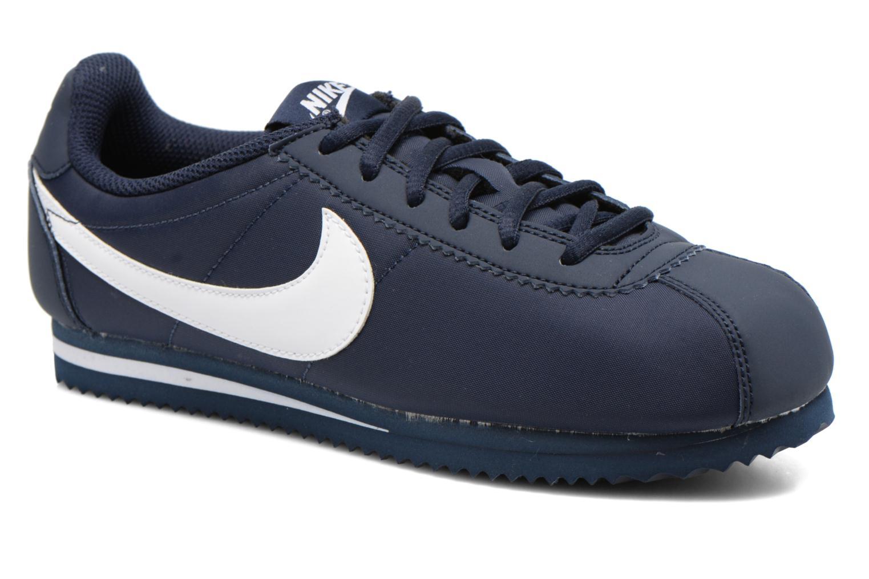 Baskets Nike Cortez Nylon (Gs) Bleu vue détail/paire