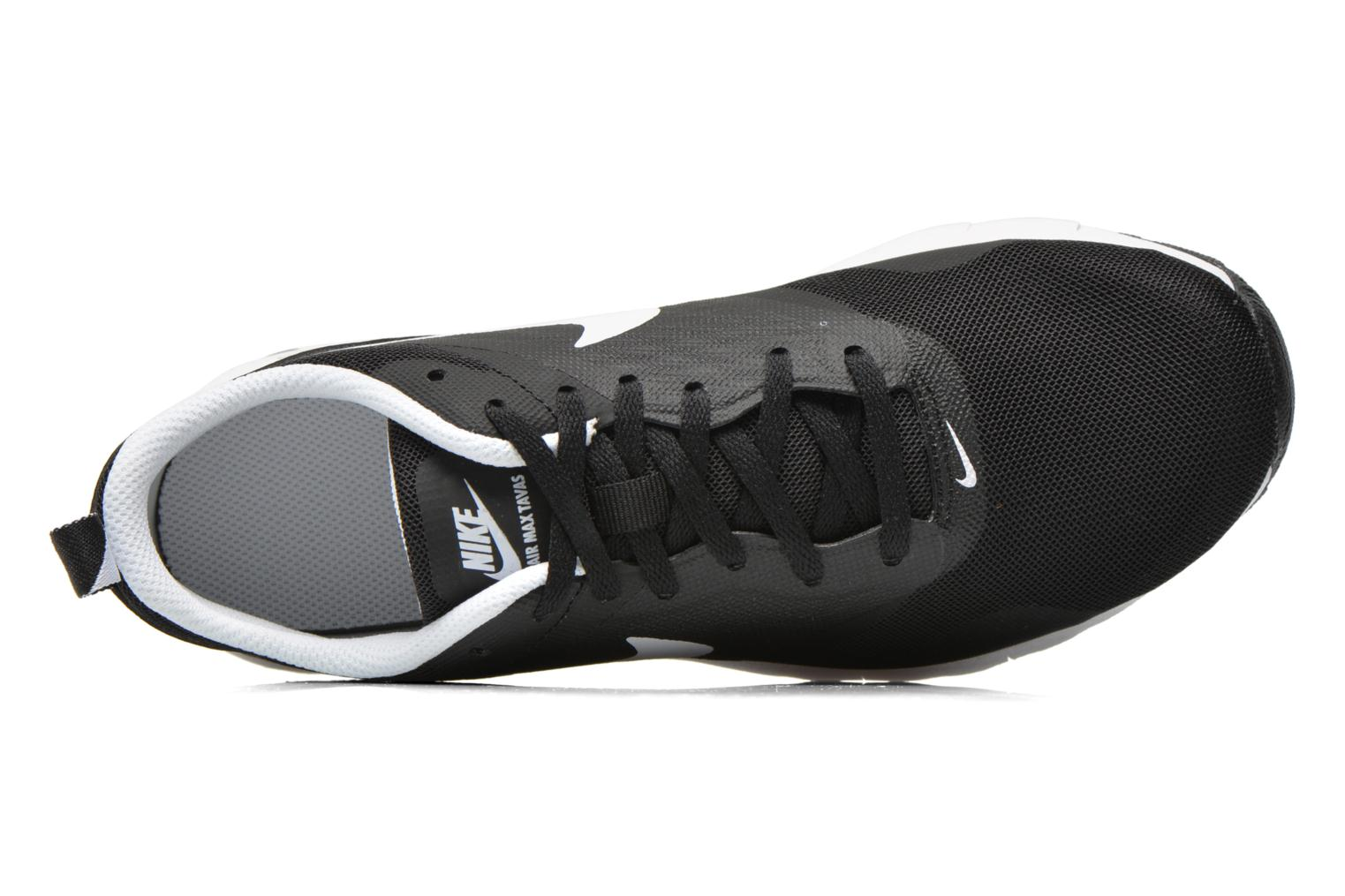 Trainers Nike Air Max Tavas (Gs) Black view from the left