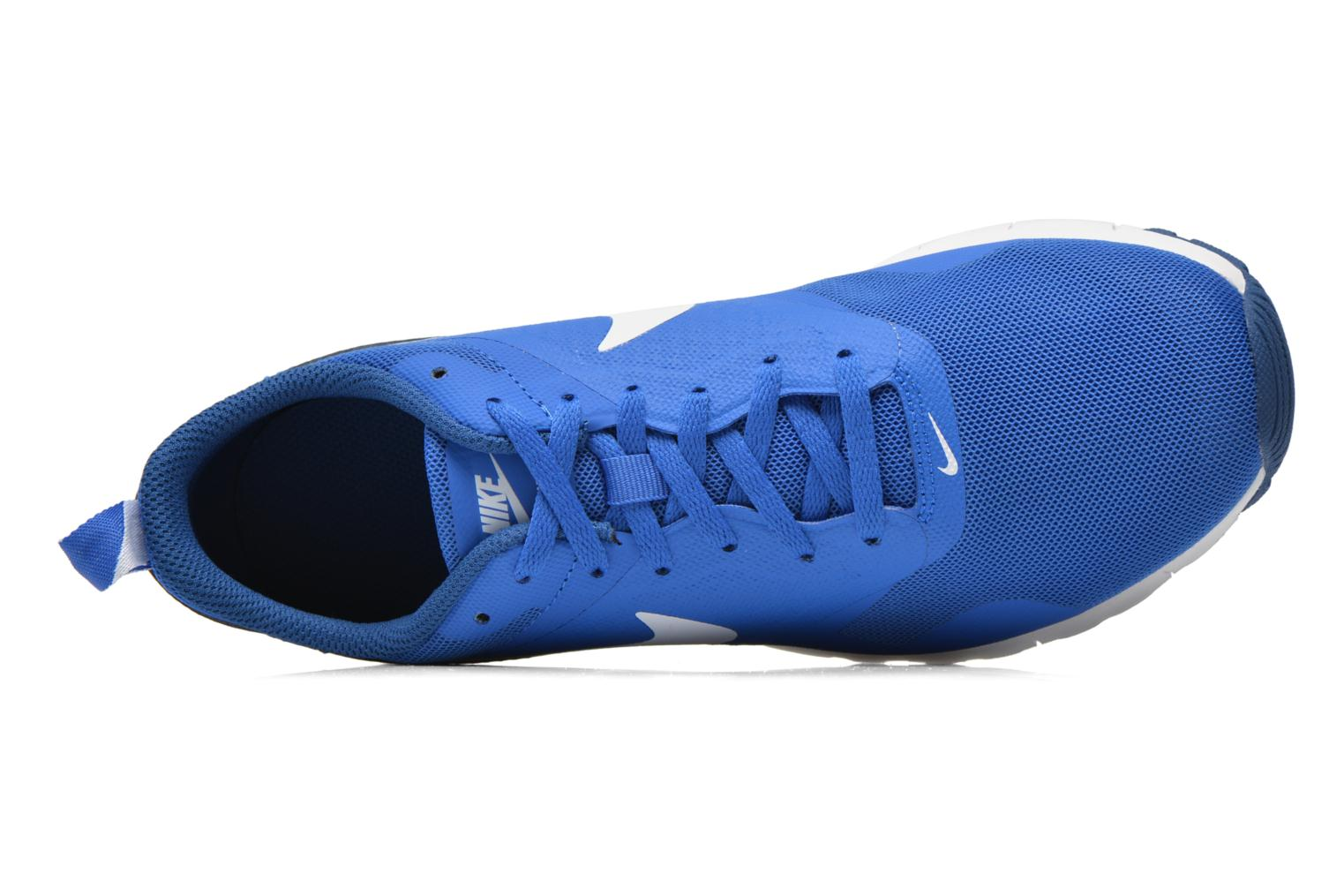 Trainers Nike Air Max Tavas (Gs) Blue view from the left