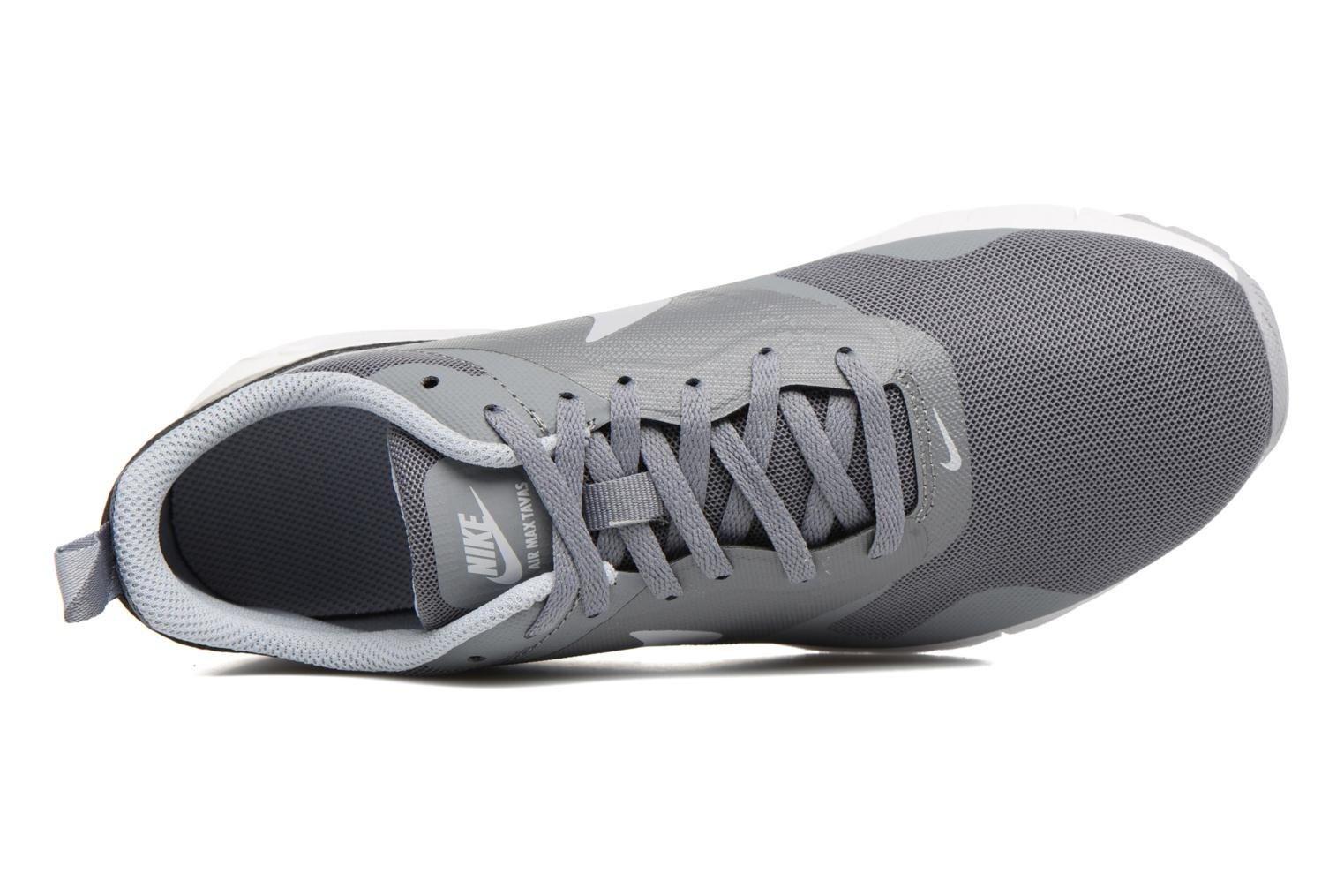 Trainers Nike Air Max Tavas (Gs) Grey view from the left