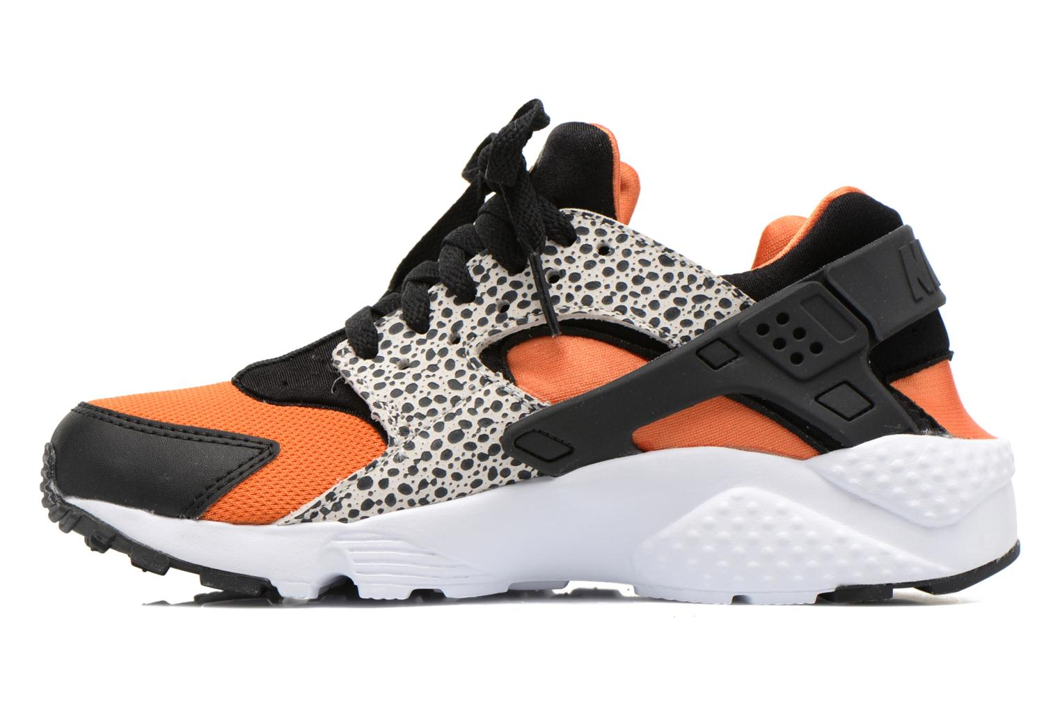 Deportivas Nike Huarache Run Safari (Gs) Negro vista de frente