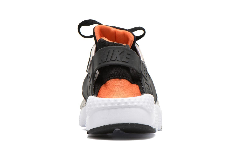 Huarache Run Safari (Gs) White/Black-Clay Orange