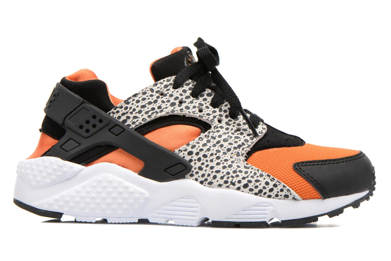 Sneaker Nike Huarache Run Safari (Gs) schwarz ansicht von hinten