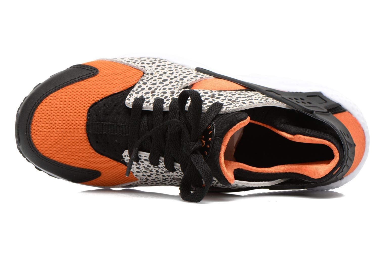 Sneaker Nike Huarache Run Safari (Gs) schwarz ansicht von links