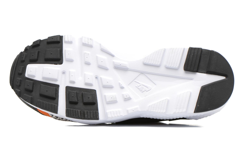 Sneaker Nike Huarache Run Safari (Gs) schwarz ansicht von oben