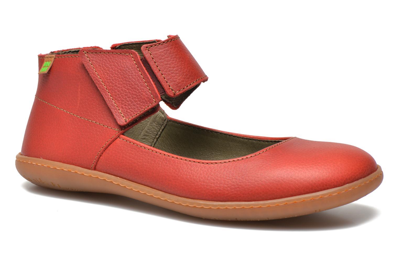 Zapatos promocionales El Naturalista El Viajero NE16 W (Rojo) - Bailarinas   Venta de liquidación de temporada