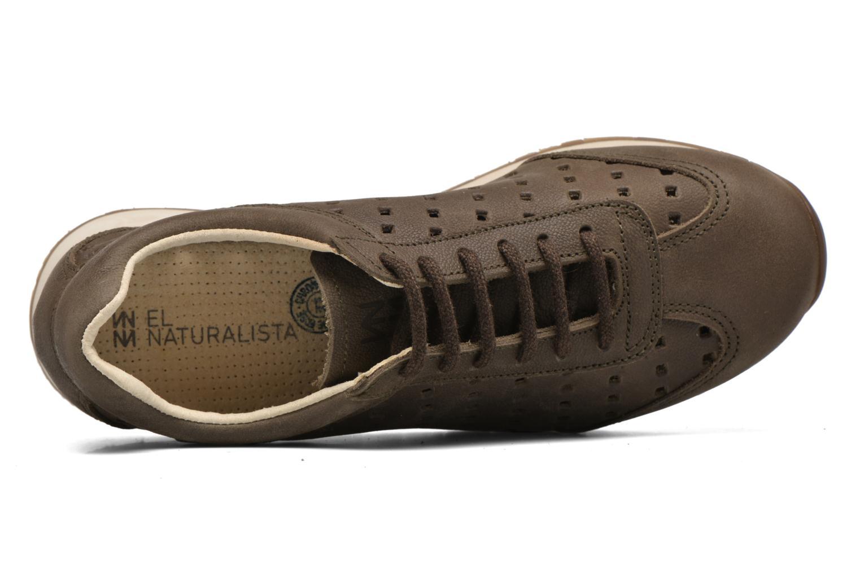 Sneaker El Naturalista Walky ND98 grün ansicht von links