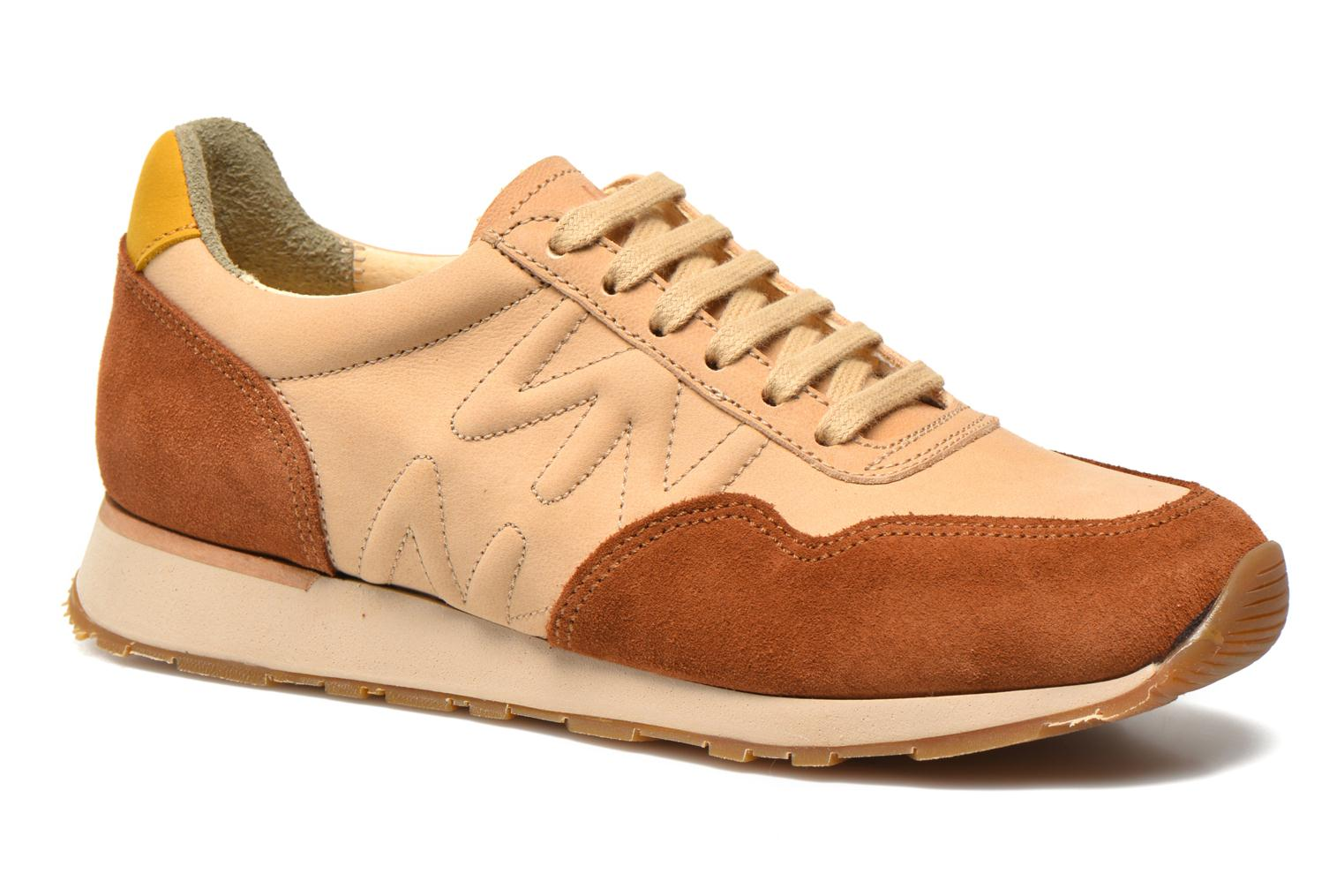 Trainers El Naturalista Walky ND90 Beige detailed view/ Pair view
