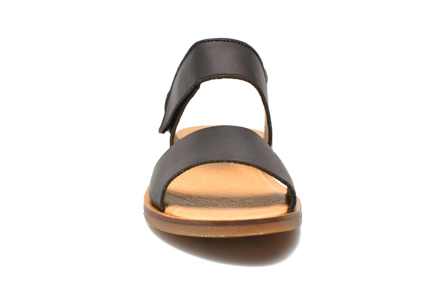 Sandals El Naturalista Tulip NF30 Black model view