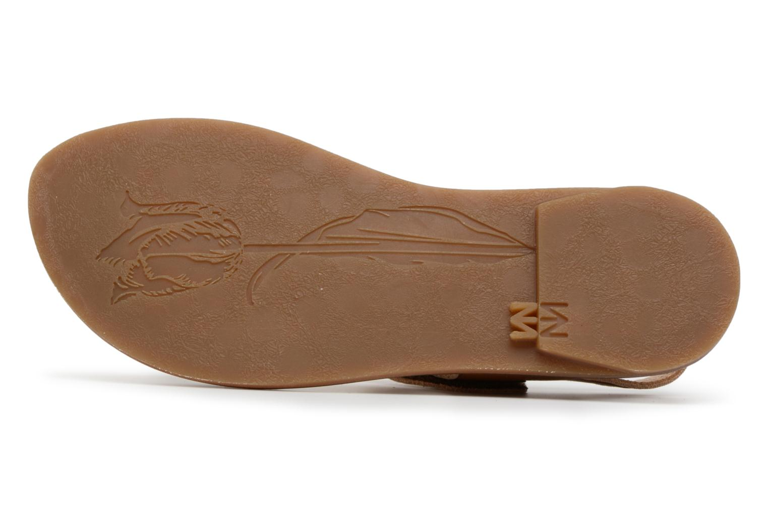 Sandals El Naturalista Tulip NF30 Brown view from above