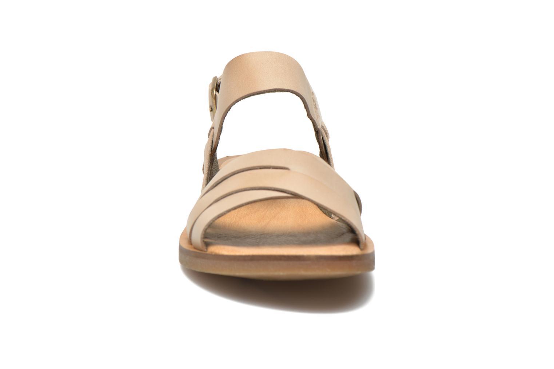 Sandales et nu-pieds El Naturalista Tulip NF33 Beige vue portées chaussures