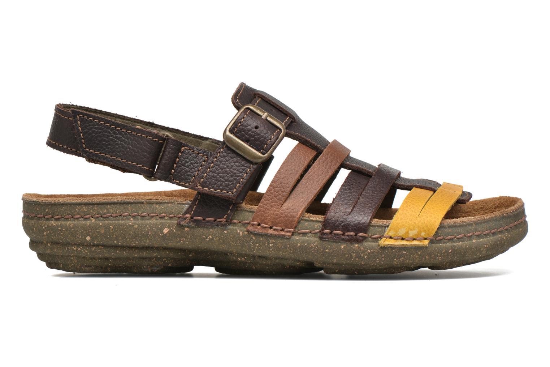 Sandales et nu-pieds El Naturalista Torcal N337 Marron vue derrière