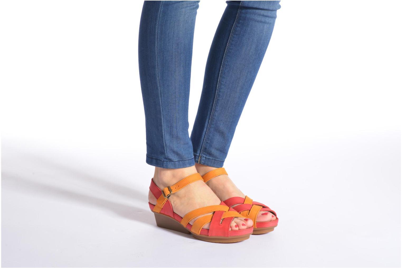 Sandales et nu-pieds El Naturalista Code ND27 Multicolore vue bas / vue portée sac