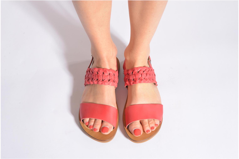 Sandales et nu-pieds El Naturalista Tulip NF31 Rouge vue bas / vue portée sac